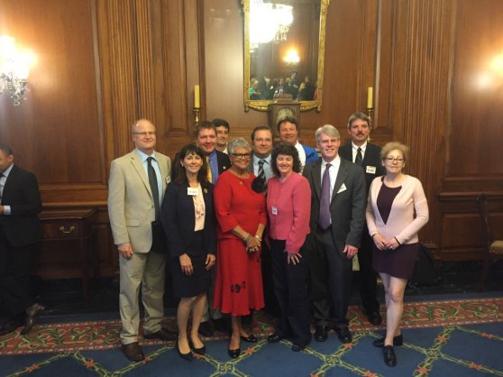 Patty in DC with Mayors on May 11, 2016